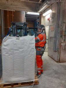 Logistique Industrielle bigbag