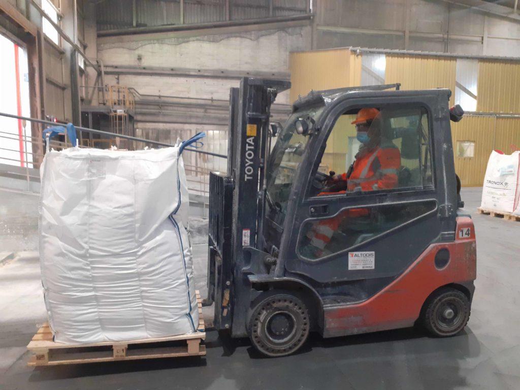 Logistique Industrielle cariste chimie